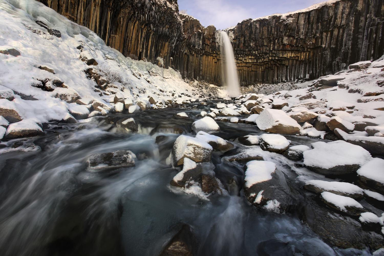 Beautiful Svartifoss by Nick Souvall
