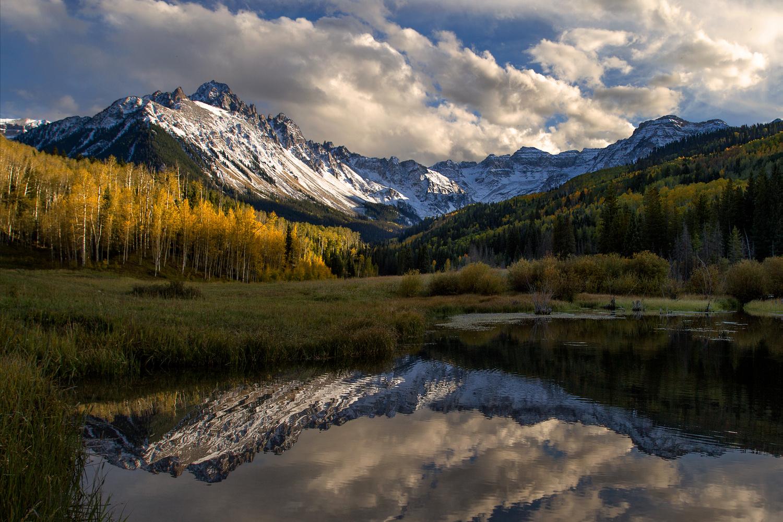 Colorado Autumn Drama by Nick Souvall