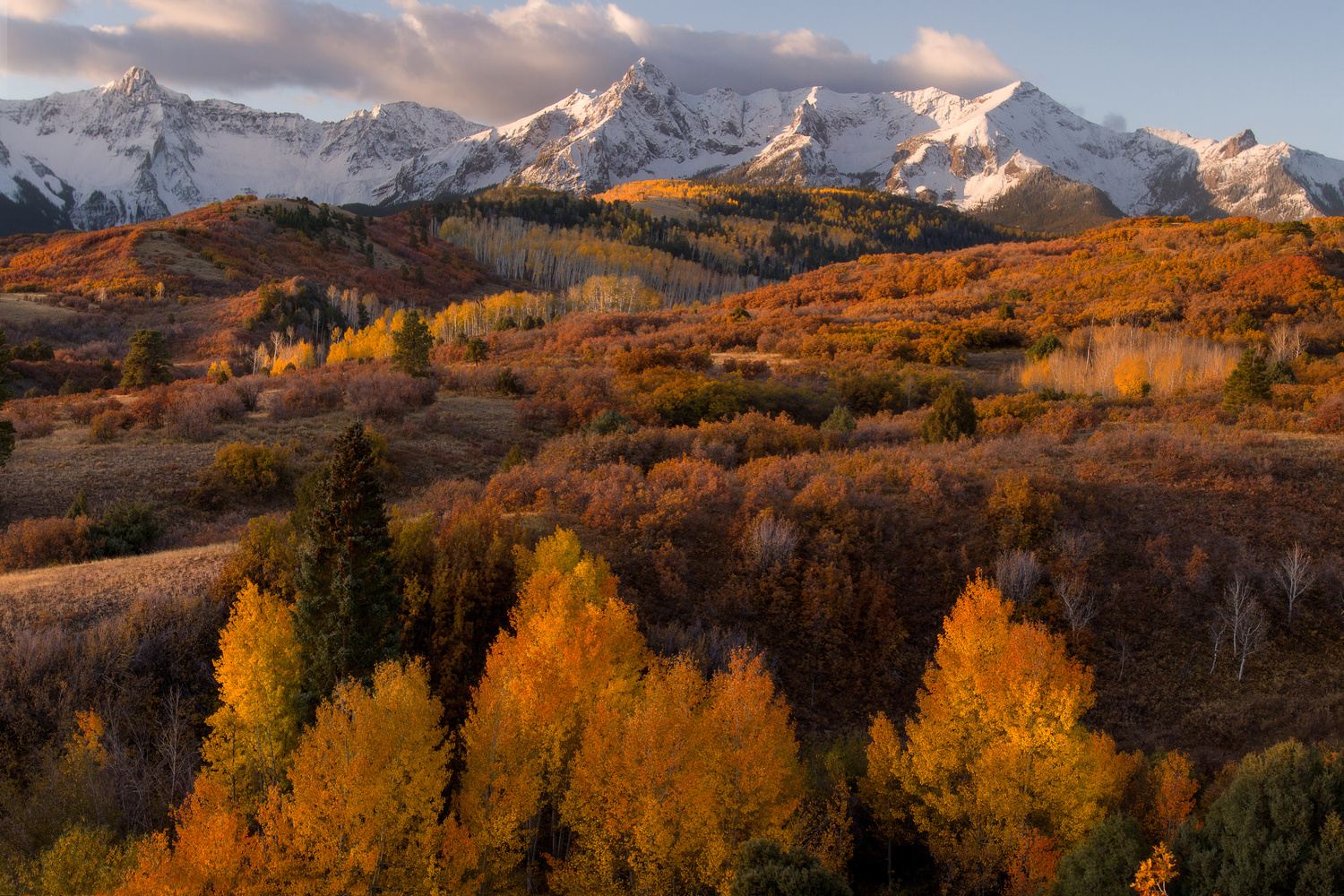 Fall in the Colorado Rockies by Nick Souvall