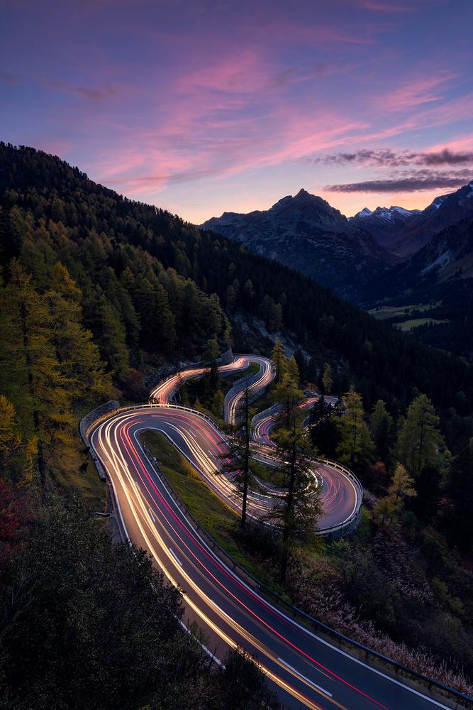 Swiss road by Maico Presente