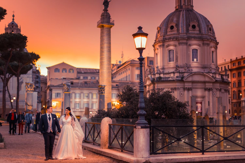 Wedding in Rome by Adriatik Berdaku