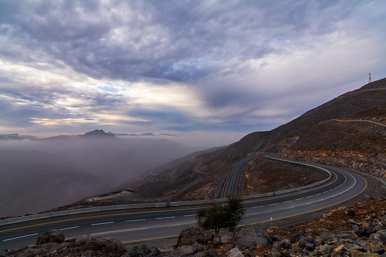 Sunrise at Jebel Jais mountain Ras Al Khaimah by Asam Munir
