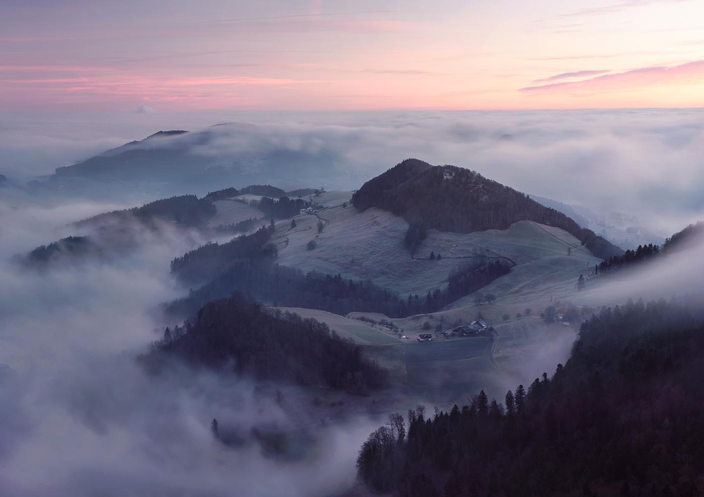 Belchen sunrise by Lionel Fellay