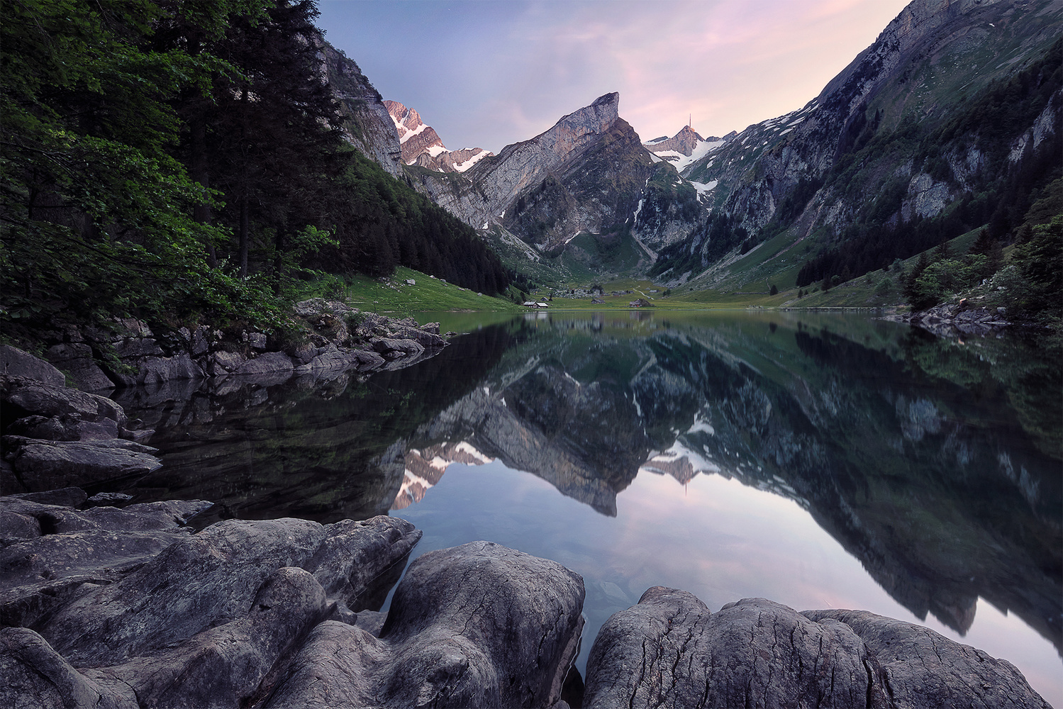 Seealpsee by Lionel Fellay
