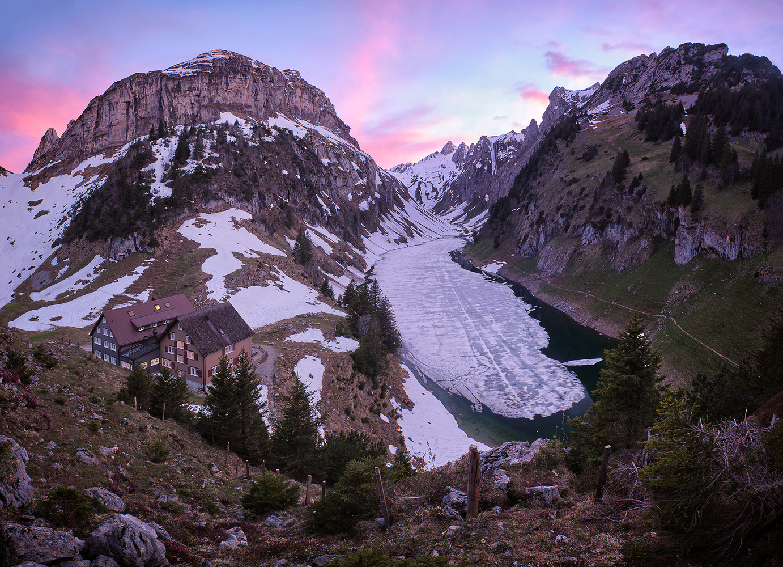 Alpine Fjord by Lionel Fellay