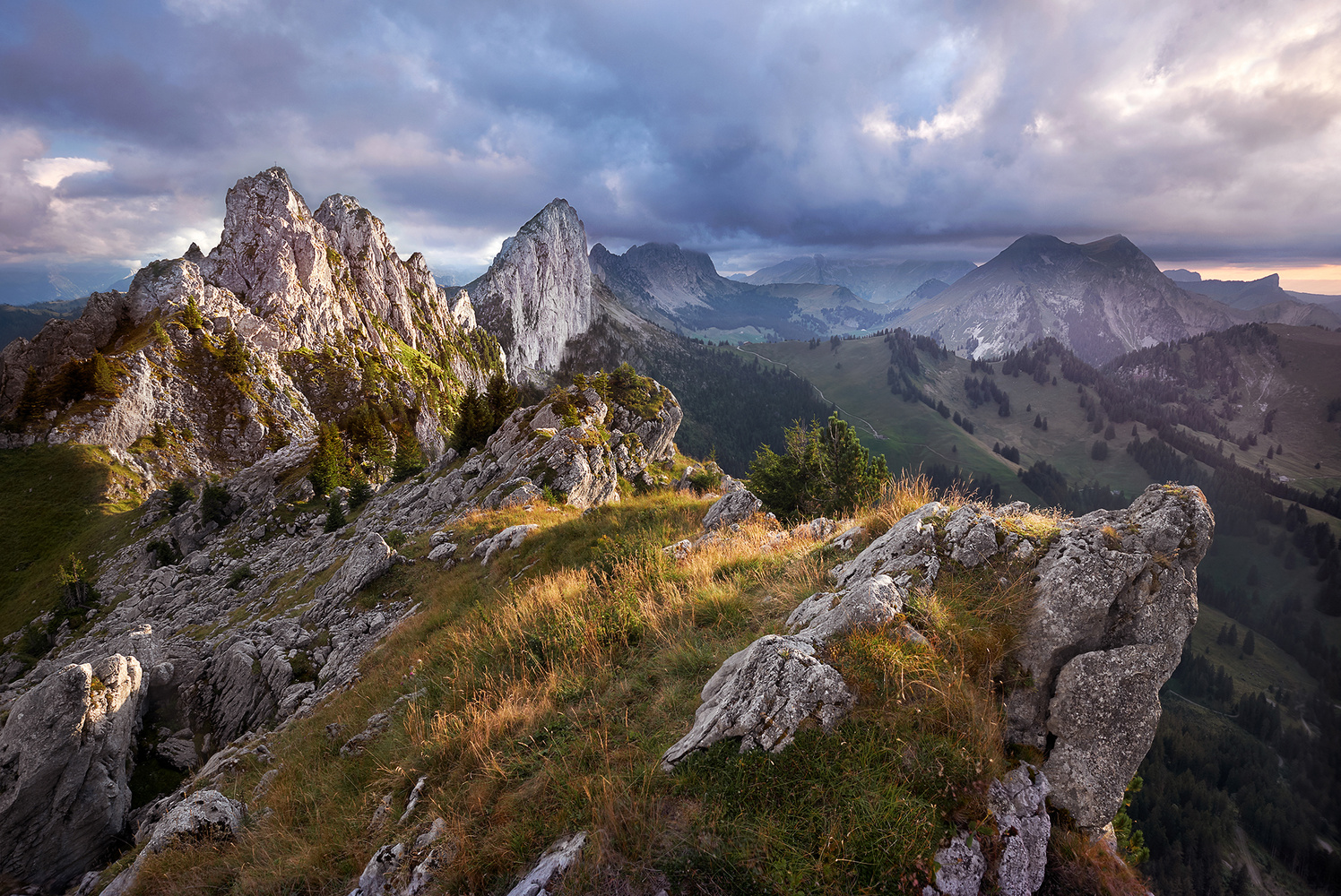 The swiss Dolomites by Lionel Fellay