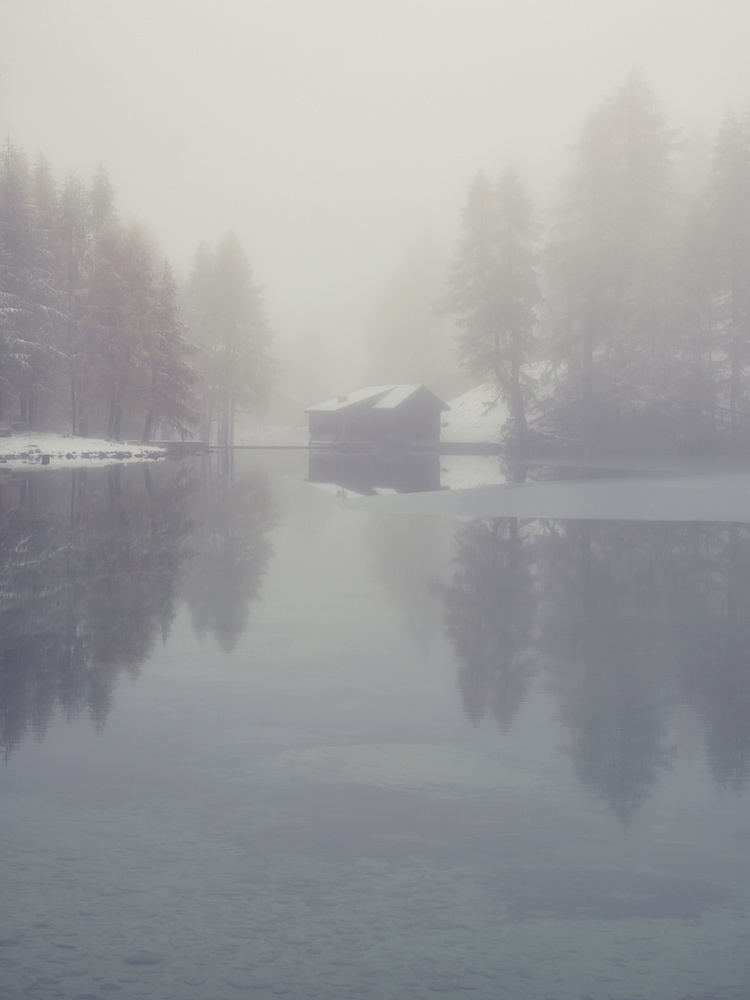 The haunted lake by Lionel Fellay