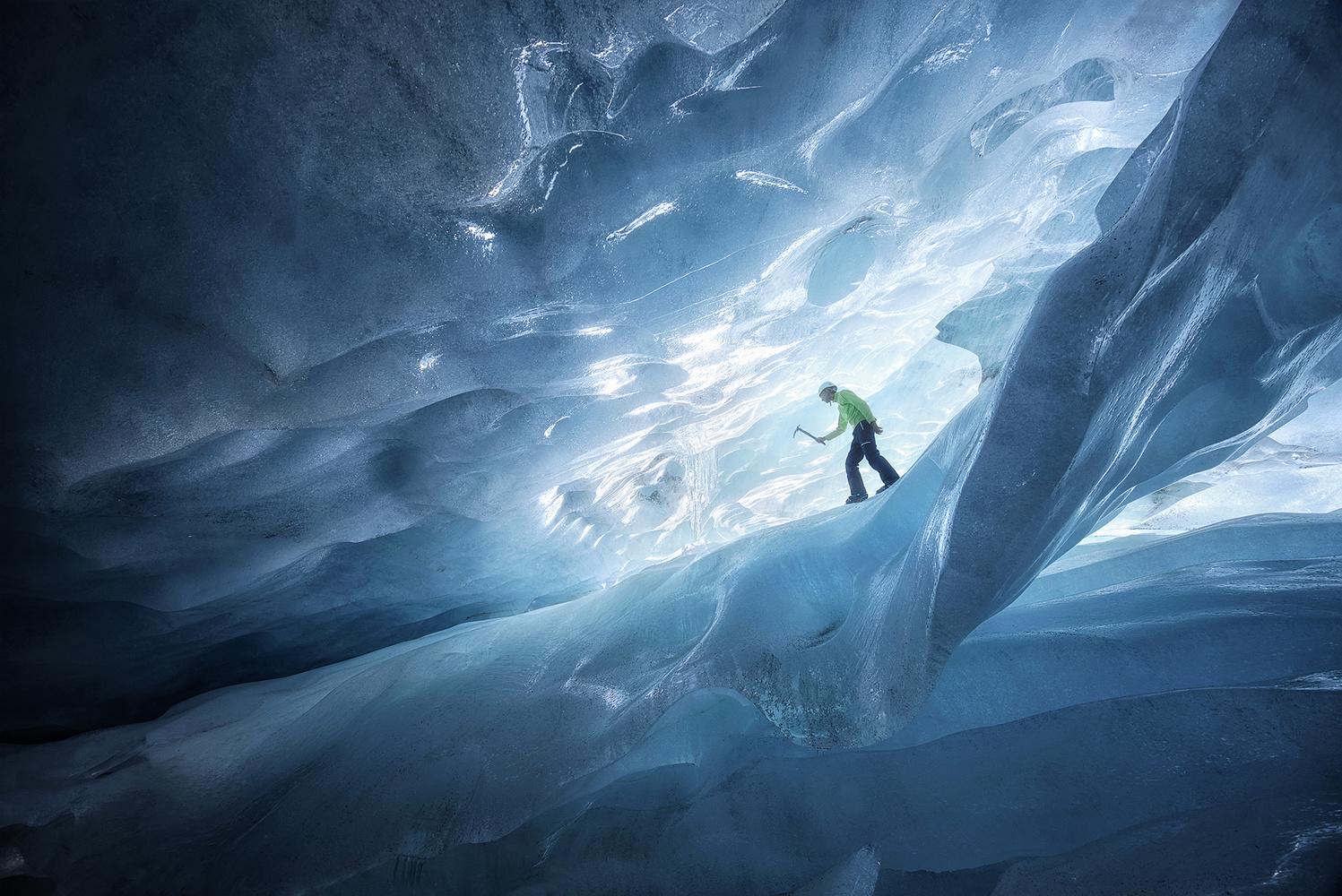 Icy maze by Lionel Fellay