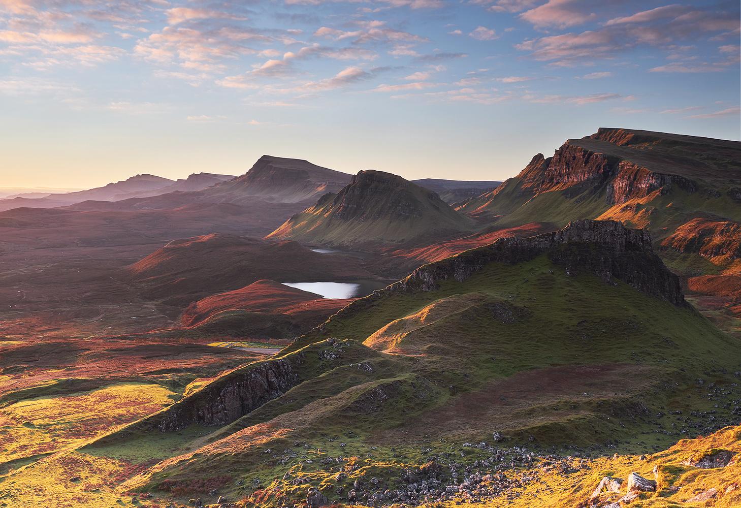 Trotternish ridge by Lionel Fellay