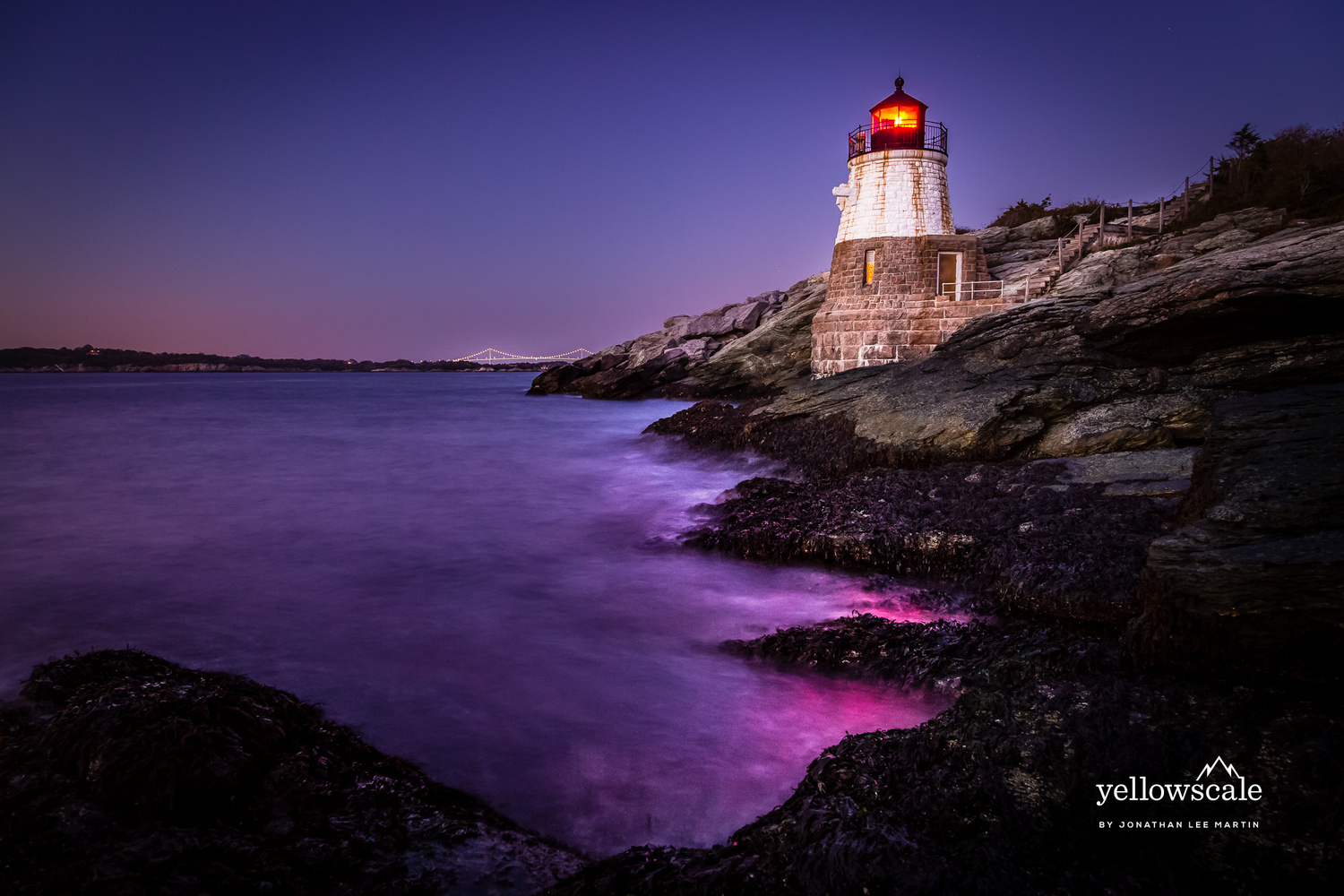 Castle Hill Lighthouse by Jonathan Lee Martin