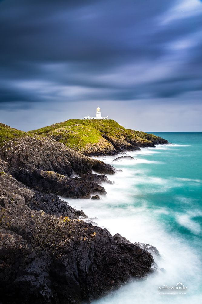 Strumble Head Lighthouse by Jonathan Lee Martin