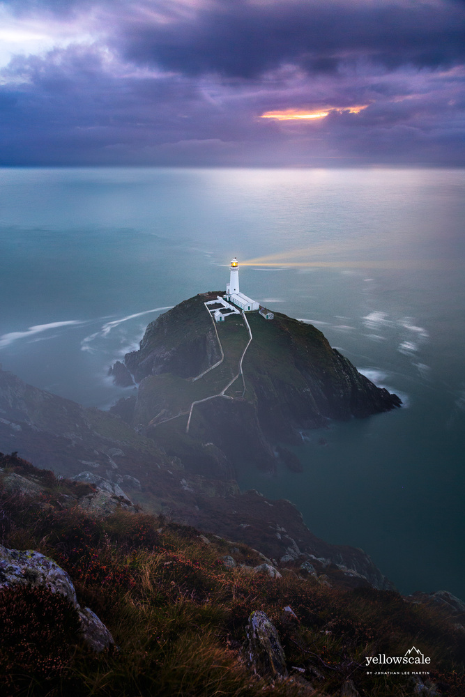 South Stack Lighthouse by Jonathan Lee Martin
