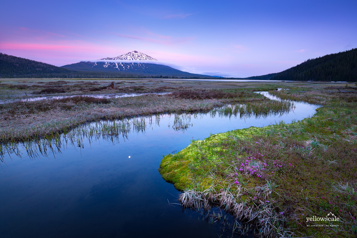 Mt. Bachelor and the Cascade Lakes by Jonathan Lee Martin