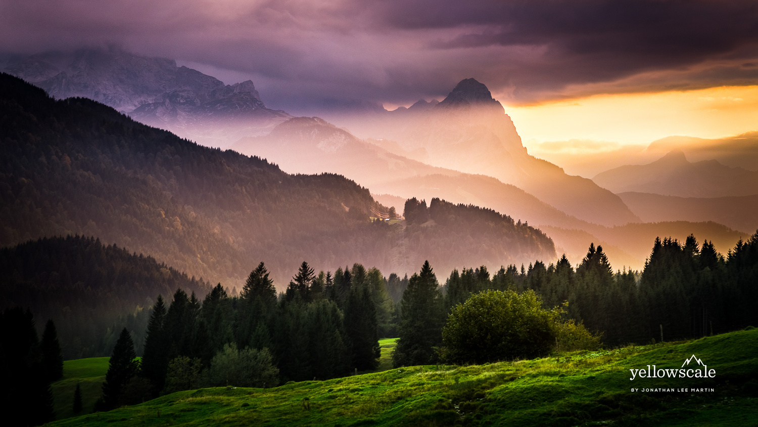 Layers in Geroldsee by Jonathan Lee Martin