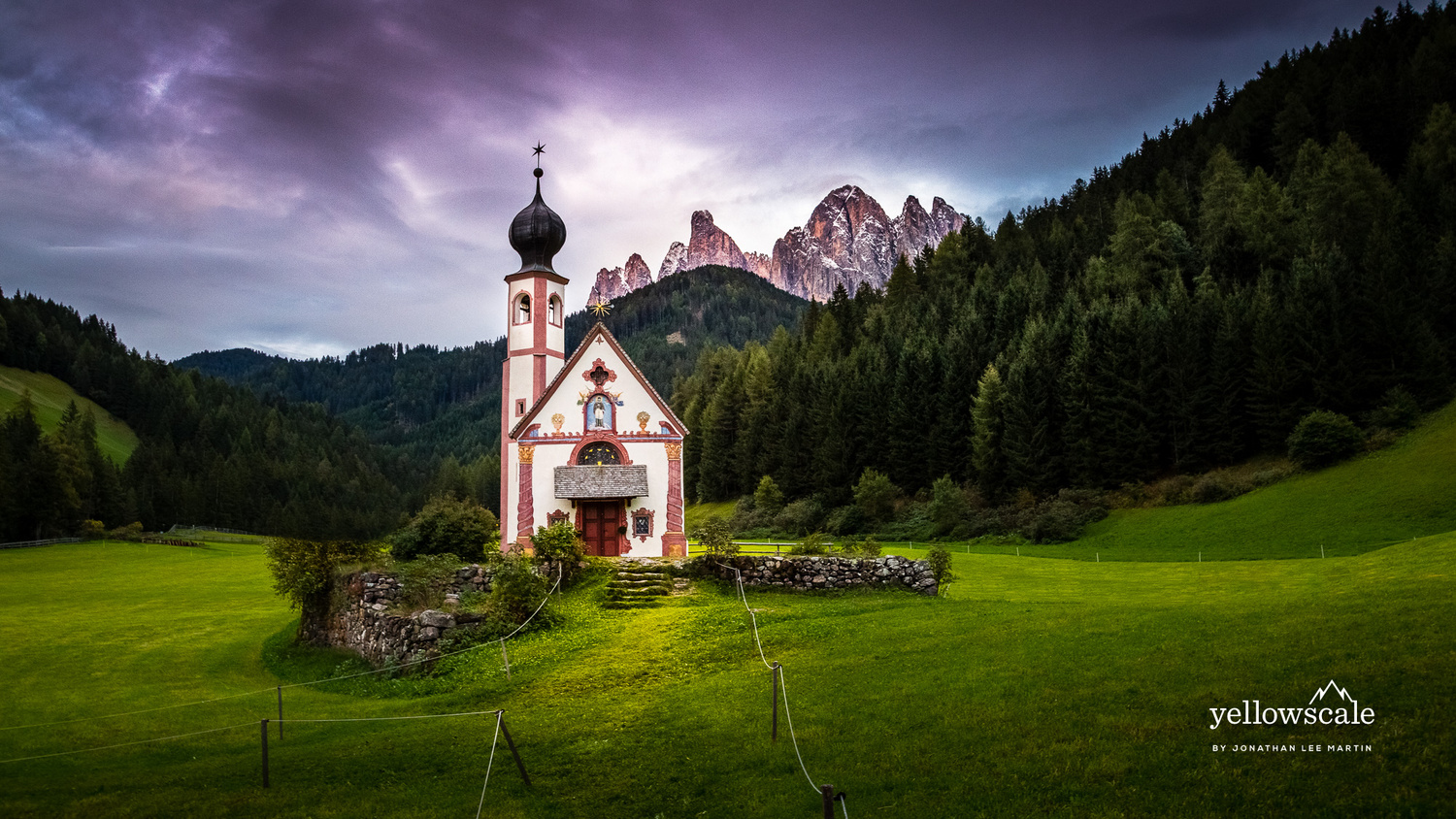 San Giovanni of the Dolomites by Jonathan Lee Martin