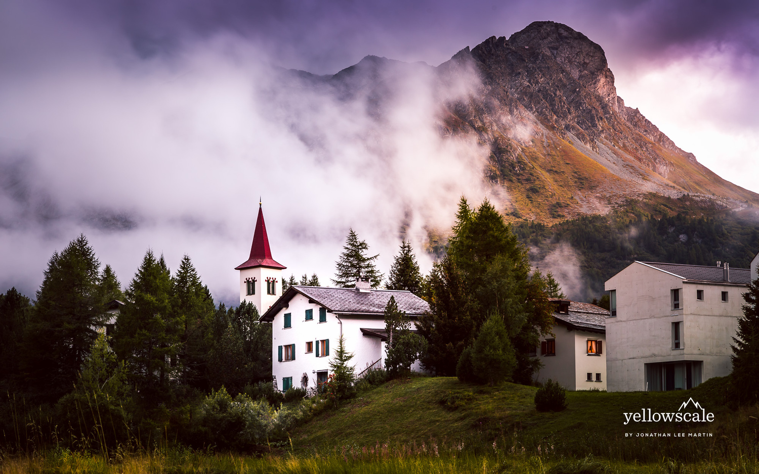 Church under the Mountain by Jonathan Lee Martin