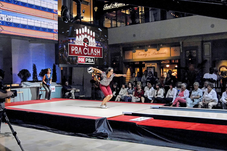 Women International Bowling Competition Fashion Show Mall by Rick Fowler