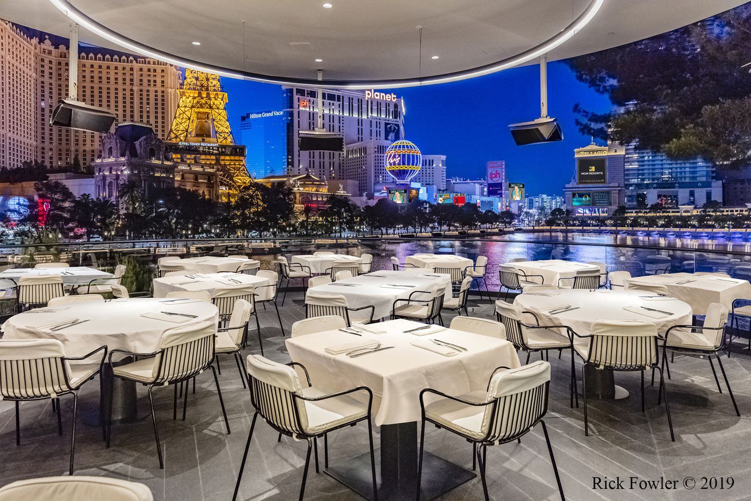 SPAGO BY WOLFGANG PUCK AT BELLAGIO HOTEL & CASINO by Rick Fowler