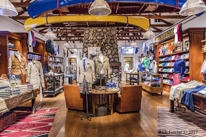 Ralph Lauren Polo Store Caesars Forum Shops Las Vegas, NV by Rick Fowler