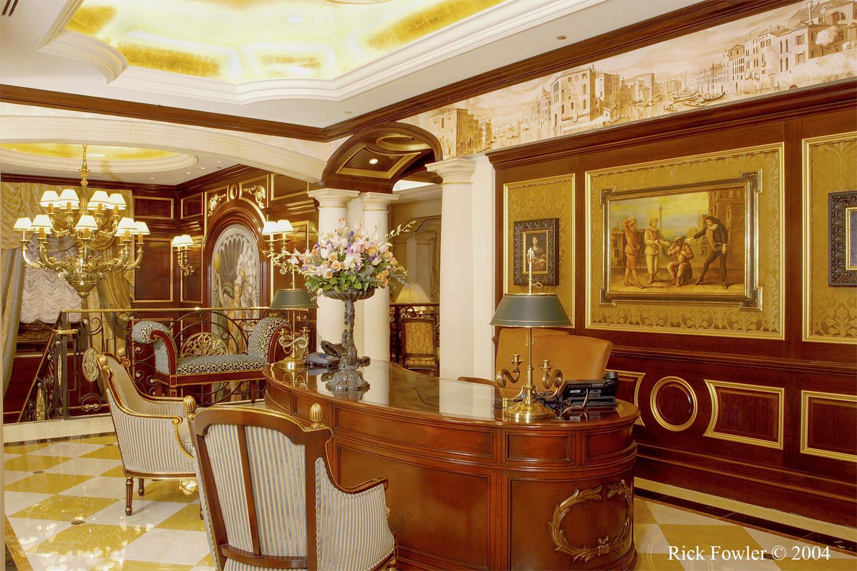 Venetian Hotel Resort V.I.P. Lounge Las Vegas, NV by Rick Fowler