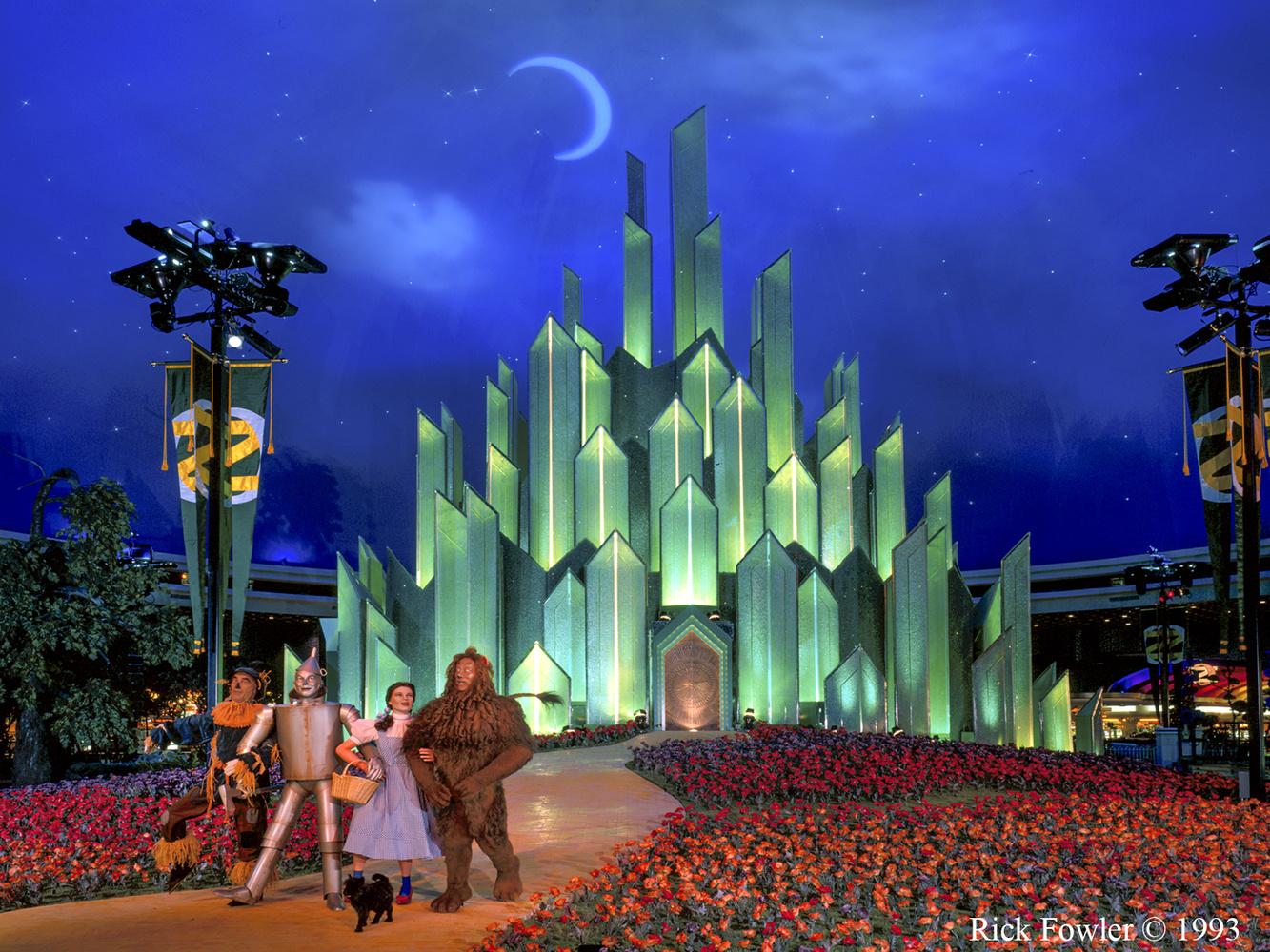 MGM Grand hotel OZ Theme by Rick Fowler