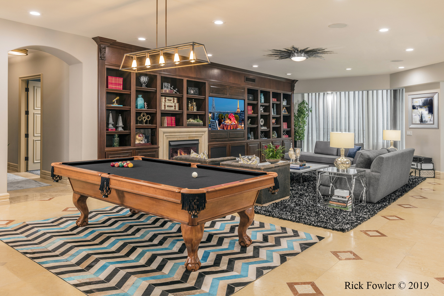 One Queens Ridge Place Private Residence Las Vegas, NV by Rick Fowler
