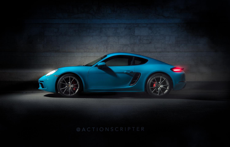 Porsche 718 Cayman S by Moe Zainal