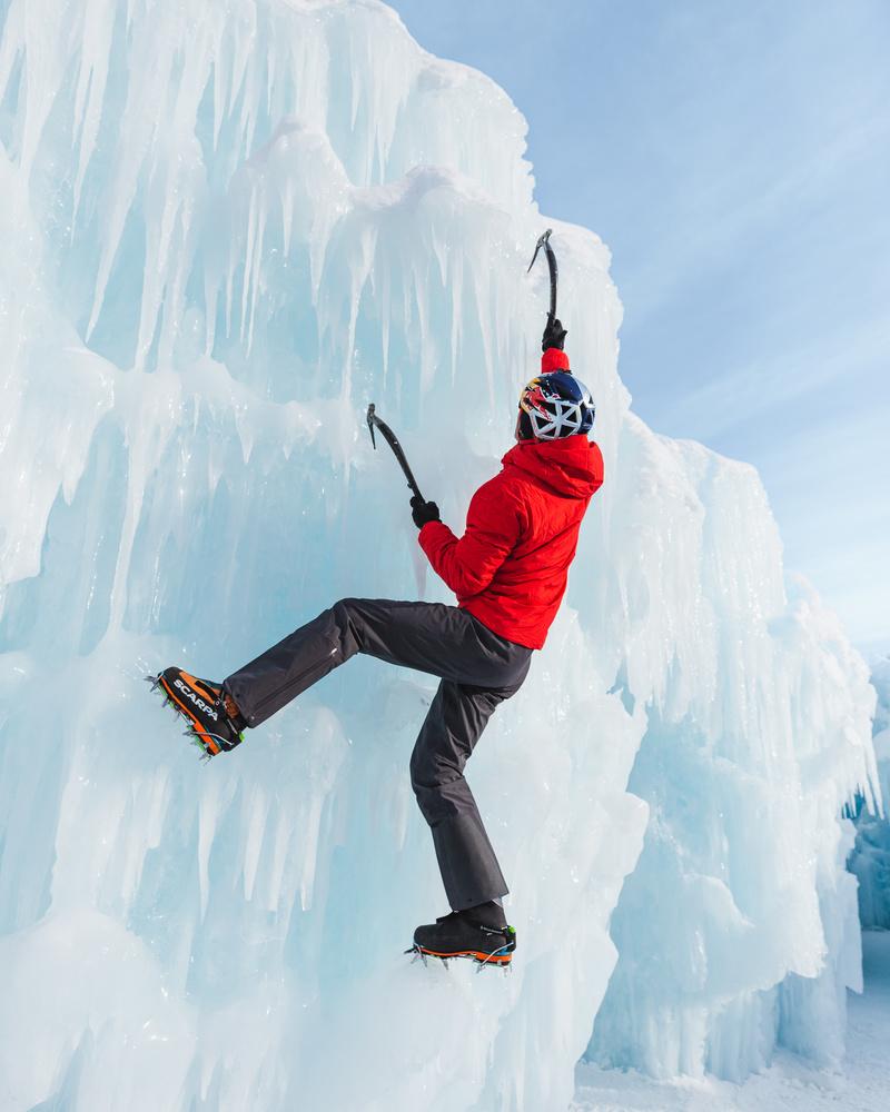 Ice Climbing by Eric Shiozaki