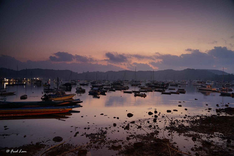 Sai Kung Dawn by Fred Lam