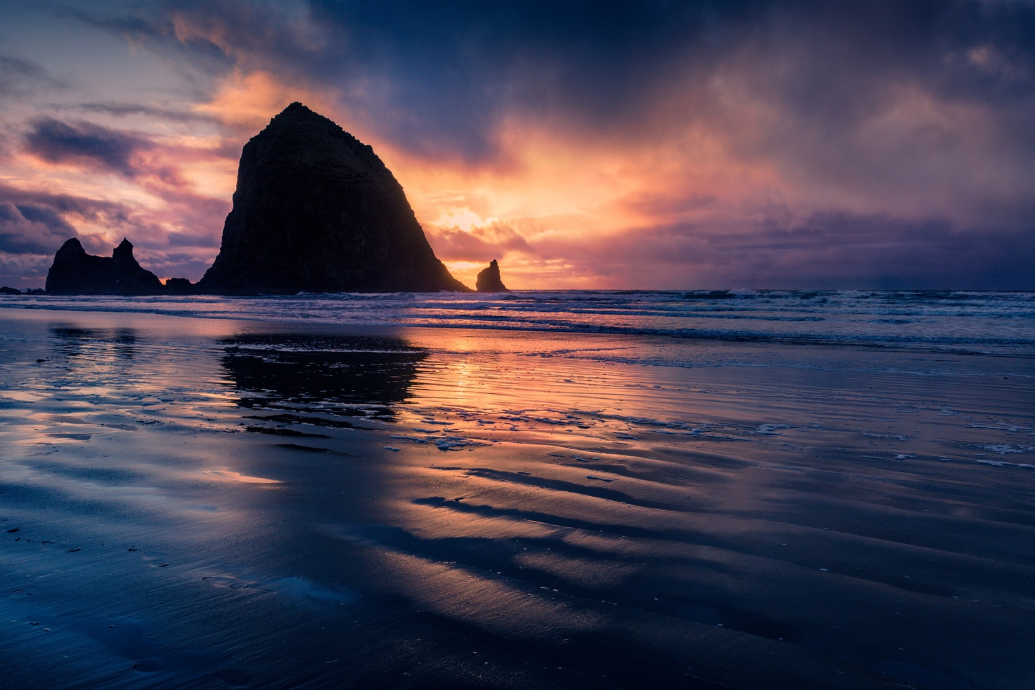 Cannon Beach Sunset by Eric Nordstrom