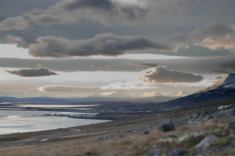 Sauðárkrókur by Mitch wolfs