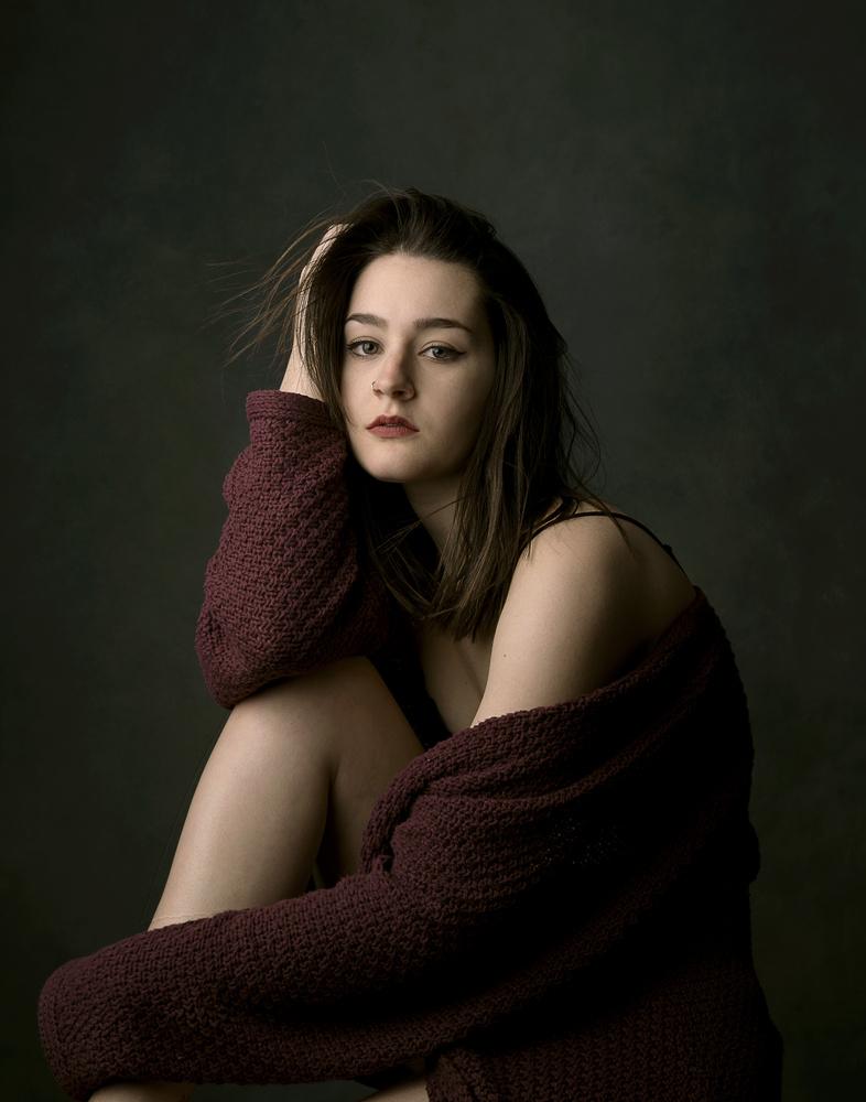 Portrait of Molly I by Elisha Knight