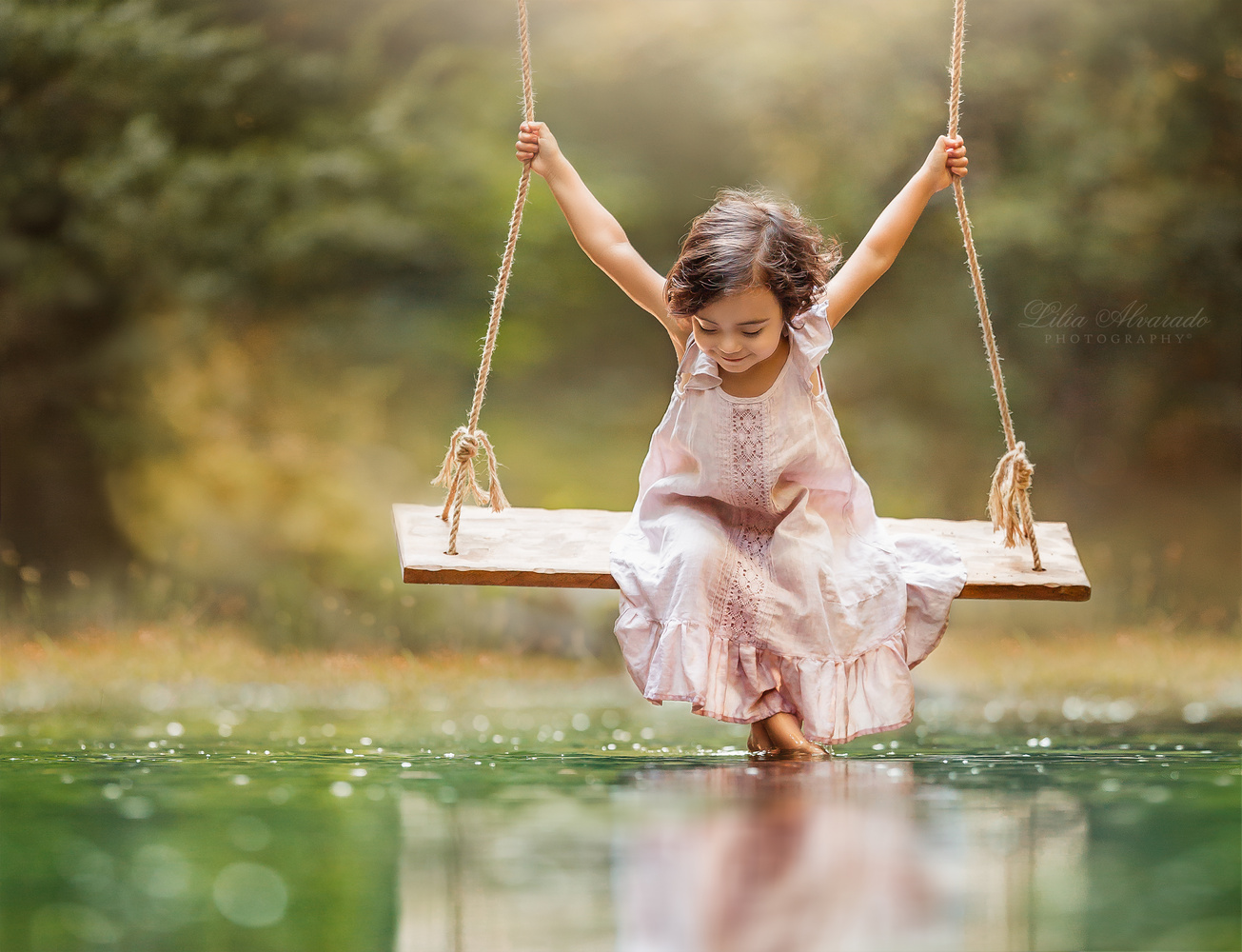 Happiness is... by Lilia Alvarado