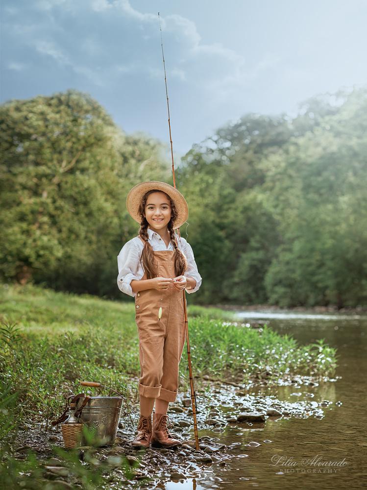 Even small fish are fish... by Lilia Alvarado