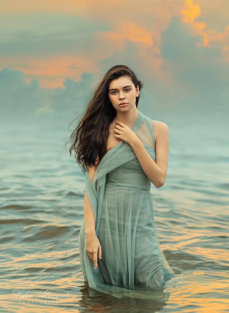 Moment of serenity... by Lilia Alvarado