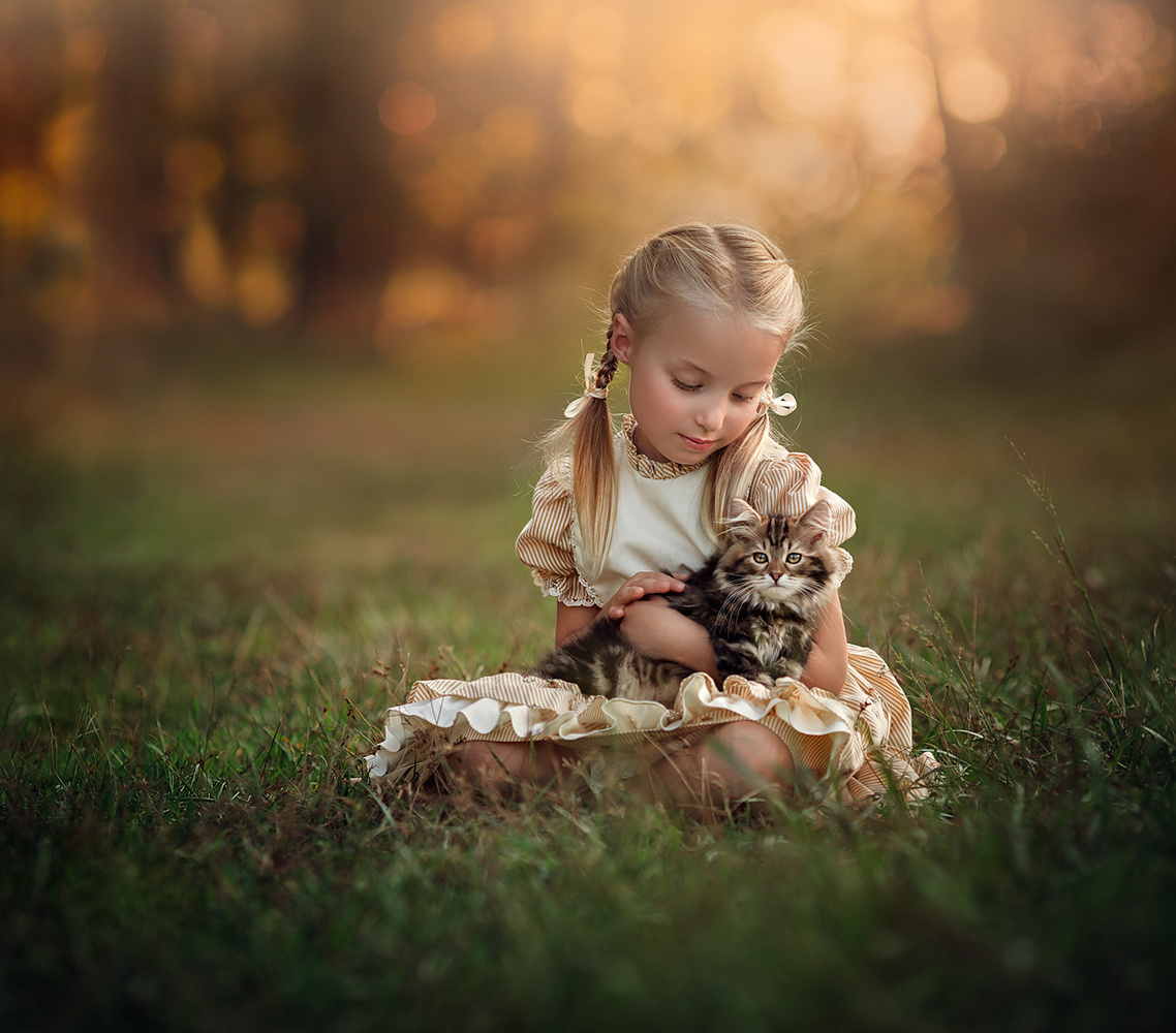 Innocence... by Lilia Alvarado