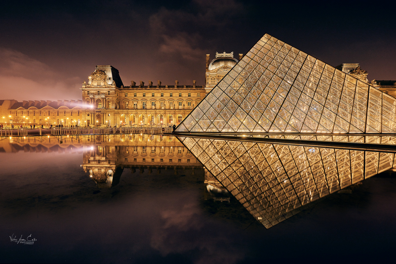France@Paris - Reflections in the Louvre by Vitor Coelho