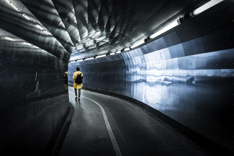 Brunkebergstunnel, Stockholm by Nurlan Emir