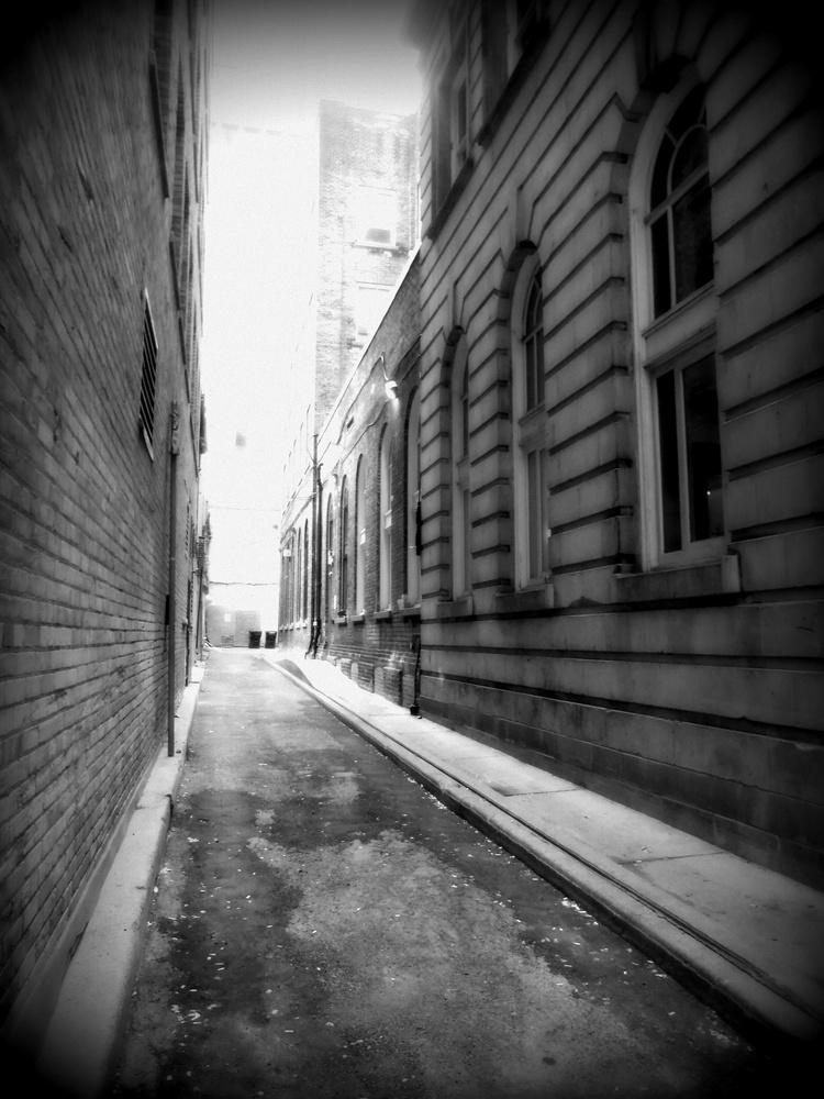 Alleyway by Gail Jordan