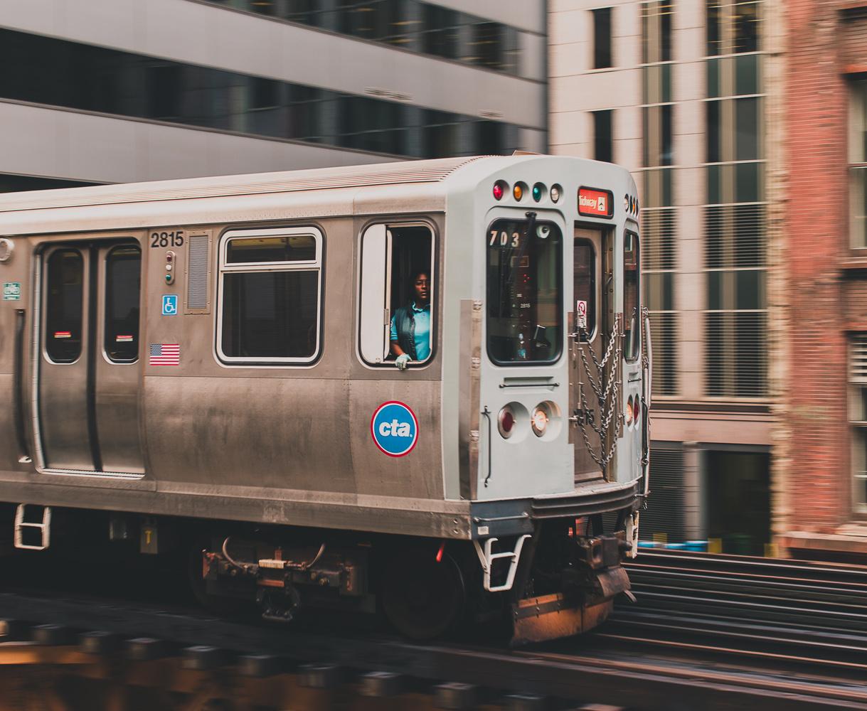 CTA Chicago by Clayton Blackmar