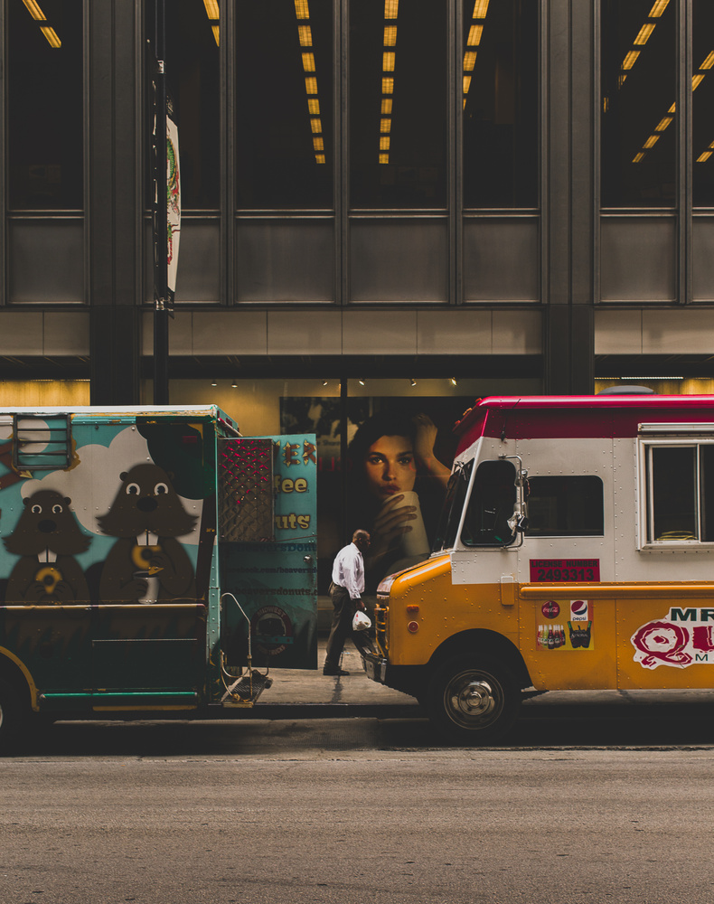 Chicago Food Trucks by Clayton Blackmar