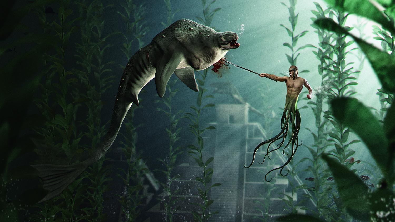 Baxter vs Octoman by Nemanja Sekulic