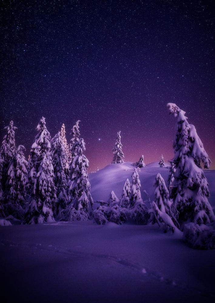 Winter Night by Alexander Jonsaas