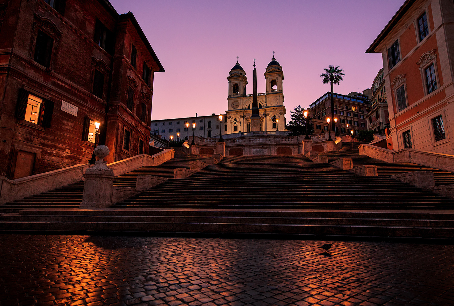 Spanish Steps by Alexander Jonsaas