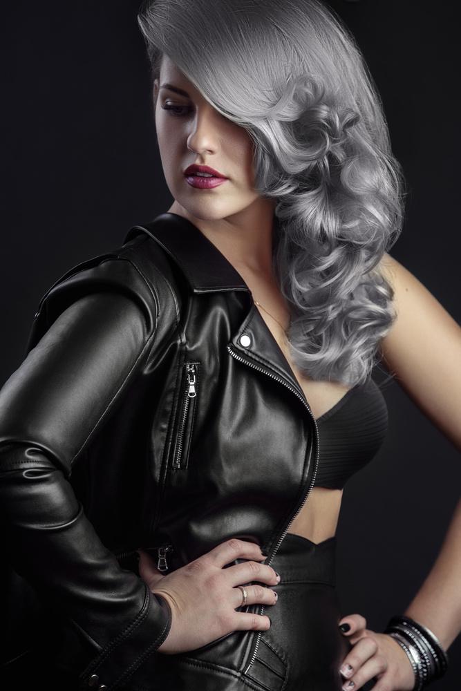 gray hair by Fedor Kamenev