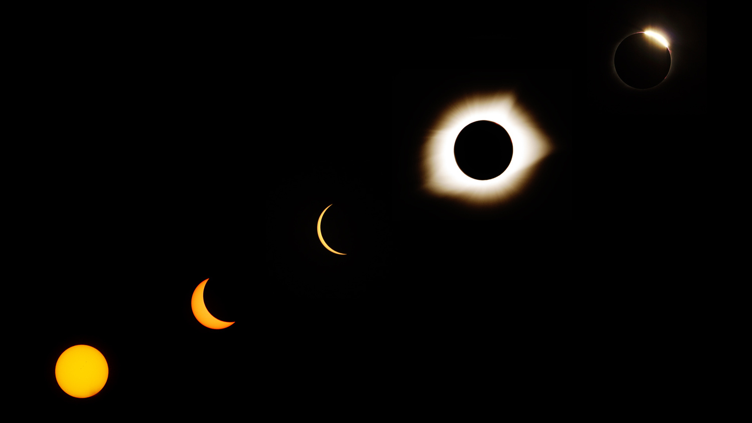 Total Eclipse Phases by Andrew Swanson