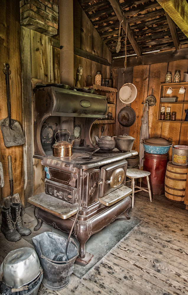 Miners Kitchen by Dorothy Pierini-Rodgers