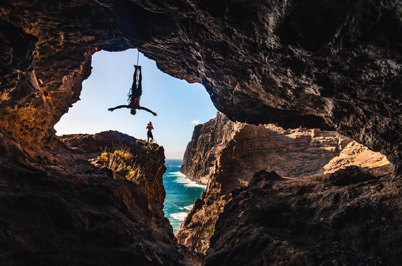 Hanging Around The Los Gigantes Cliffs by Christopher Czermak