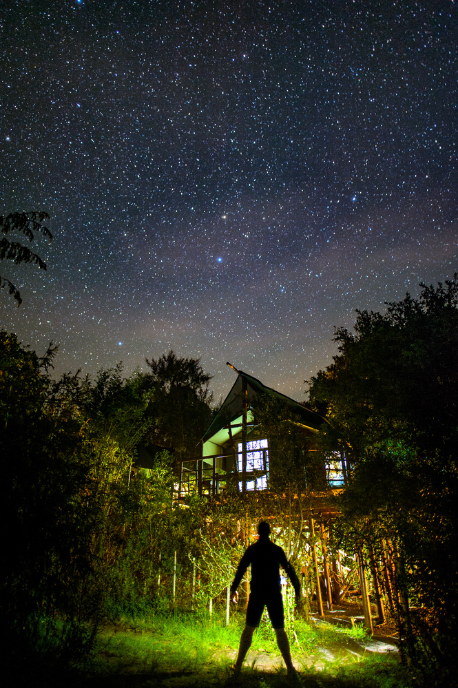 Night sky by Pawel Lappo