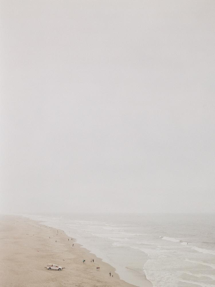 Foggy Ocean Beach, San Francisco by radostina boseva